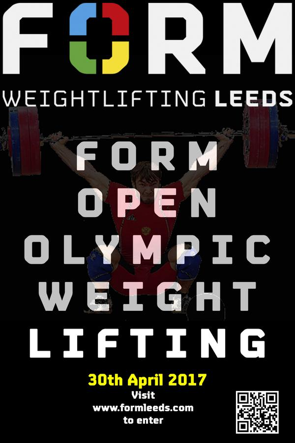 Form Leeds Open Weightlifting Competition 2017 | Bookitbee