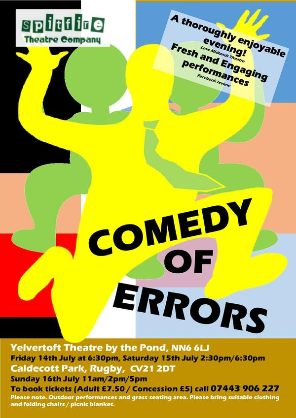 comedy of errors farce or comedy New staging of shakespeare's comedy of mistaken identity is 'a slapstick joyride' with emotional depth.